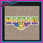 60'S HIPPY DESIGN JUTE  SHOPPING LADIES GIFT BAG 002